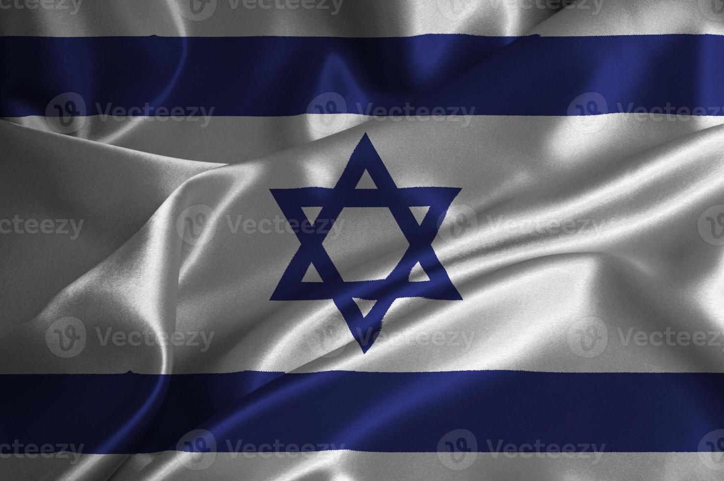 bandera de israel foto