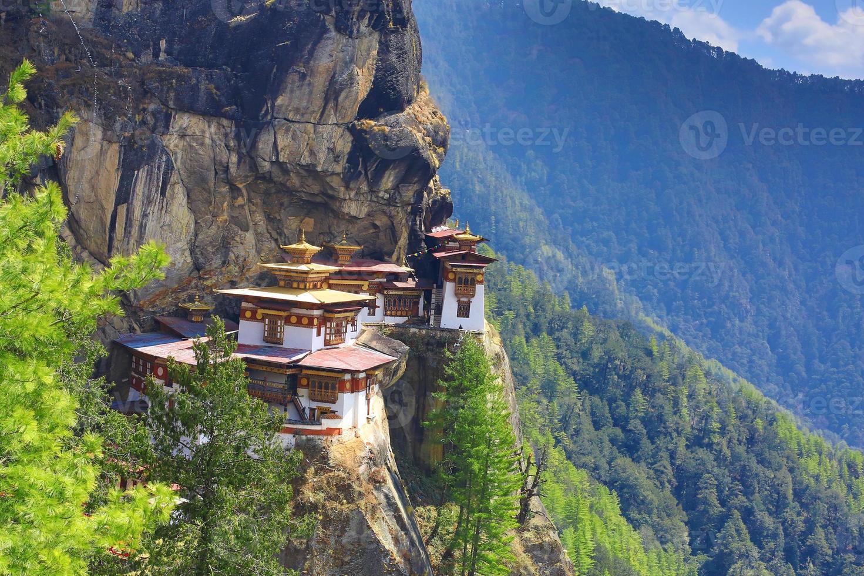 nido de tigre bhután foto