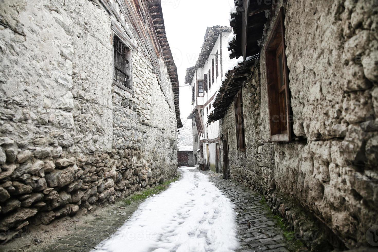 calles safranbolu foto