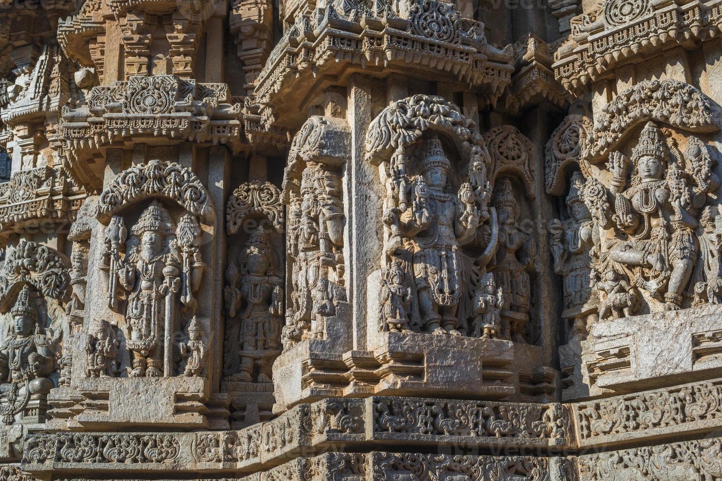 Templo de Chennakeshava, Somanathapura, Karnataka, India foto