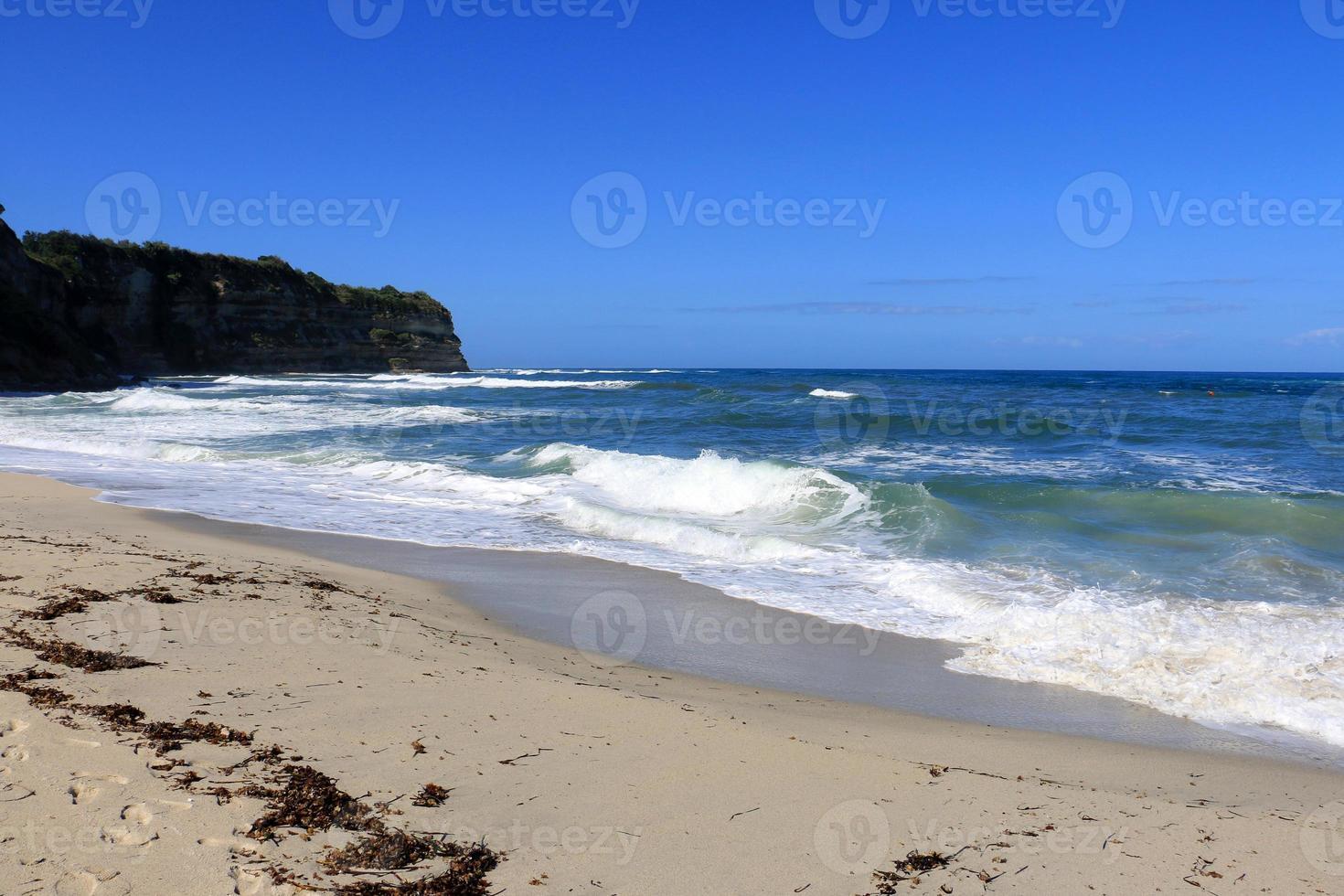 playa de capo vaticano (calabria) foto