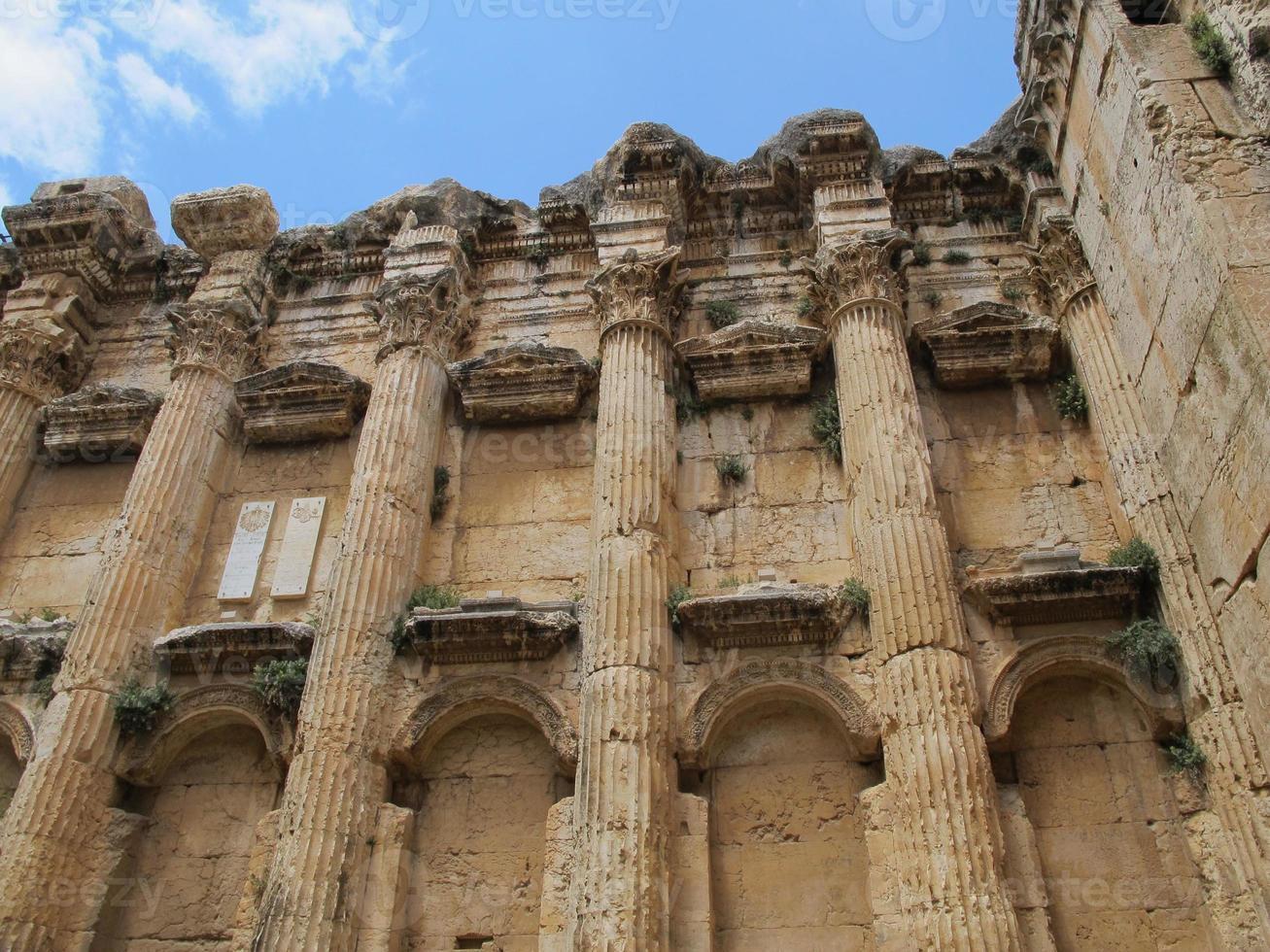 templo de baccus foto