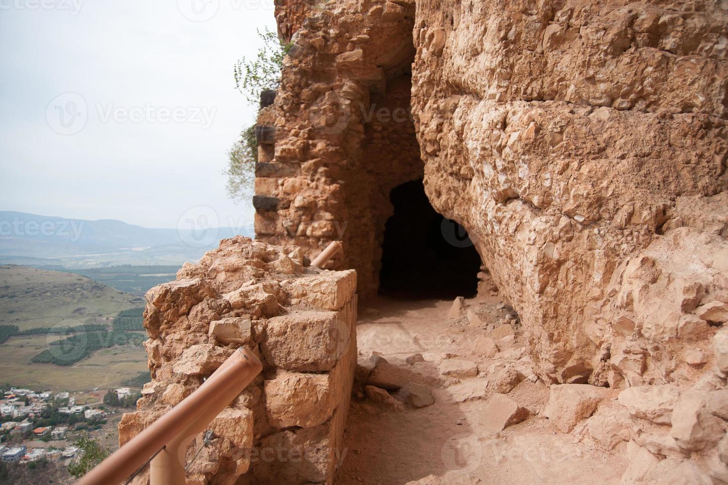 ruinas antiguas en israel foto