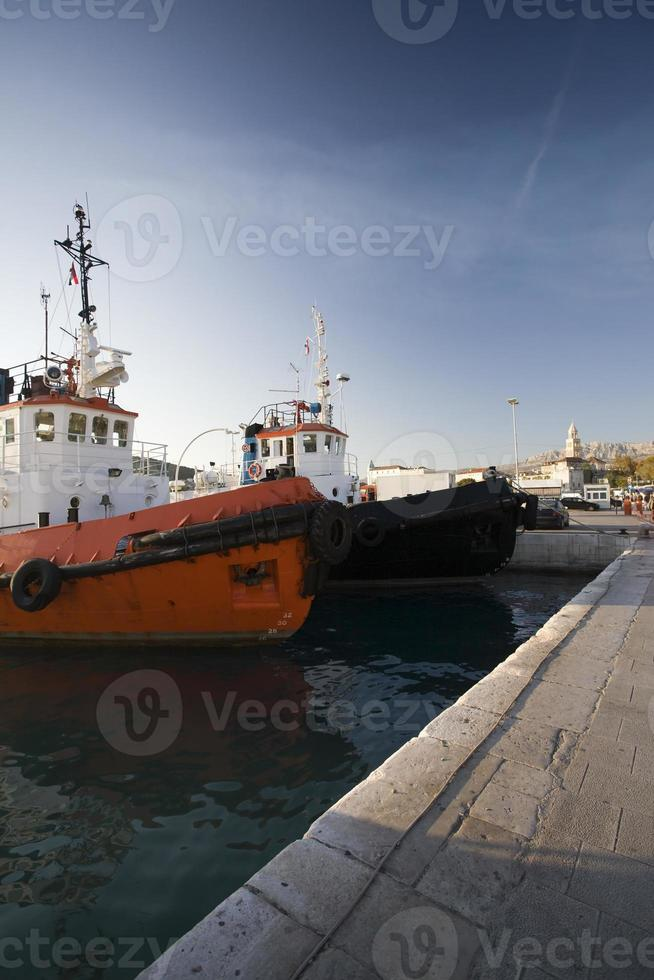 Split Harbor Scenic - Croacia foto