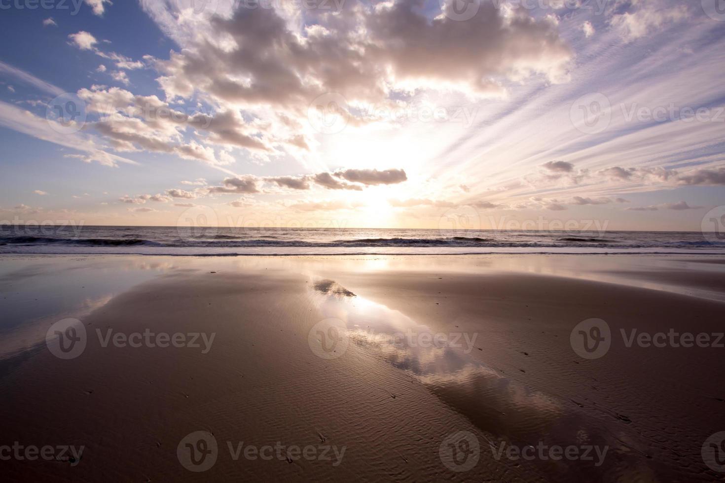pintoresco paisaje marino foto