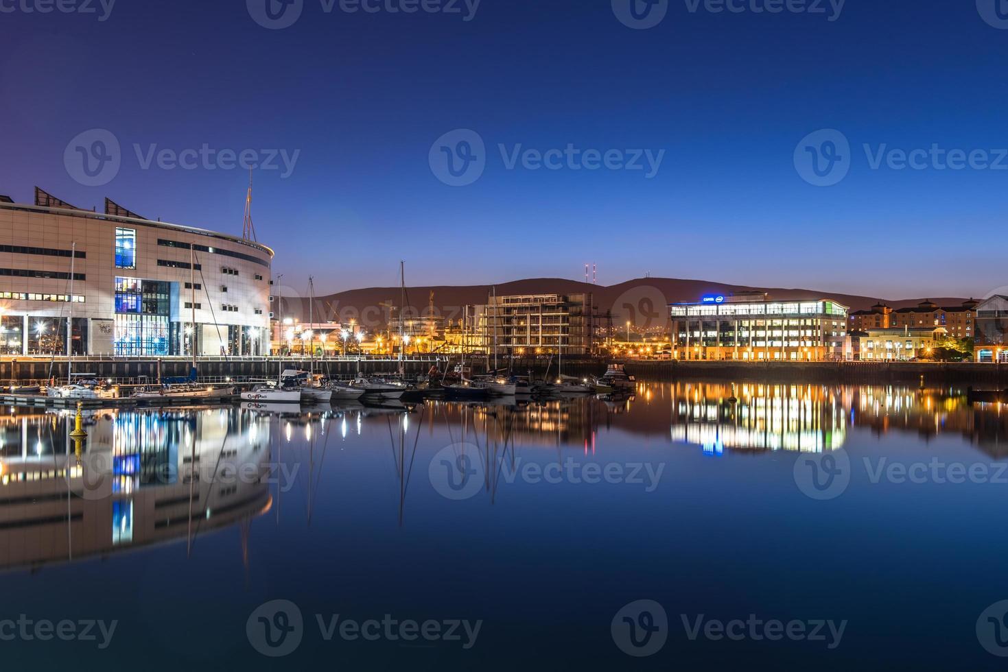 Hermosa ciudad de Belfast, Irlanda del Norte, Reino Unido foto