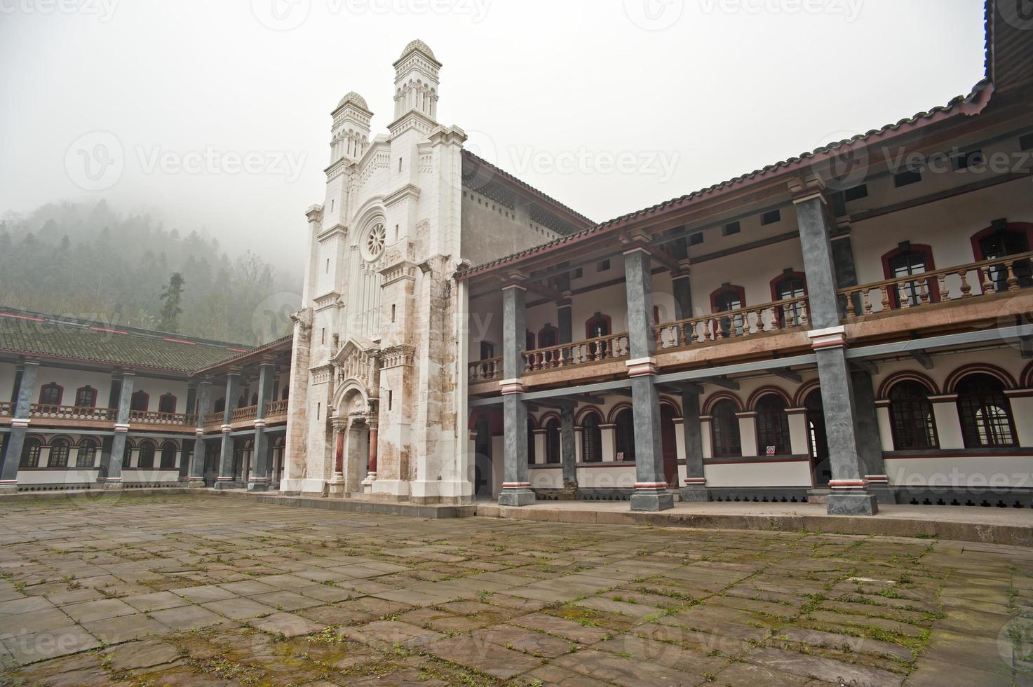 la iglesia antigua foto