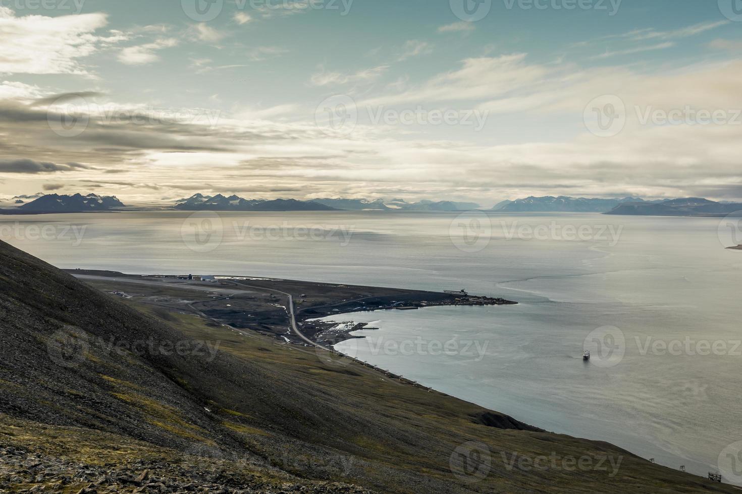 aeropuerto de Longyearbyen. foto