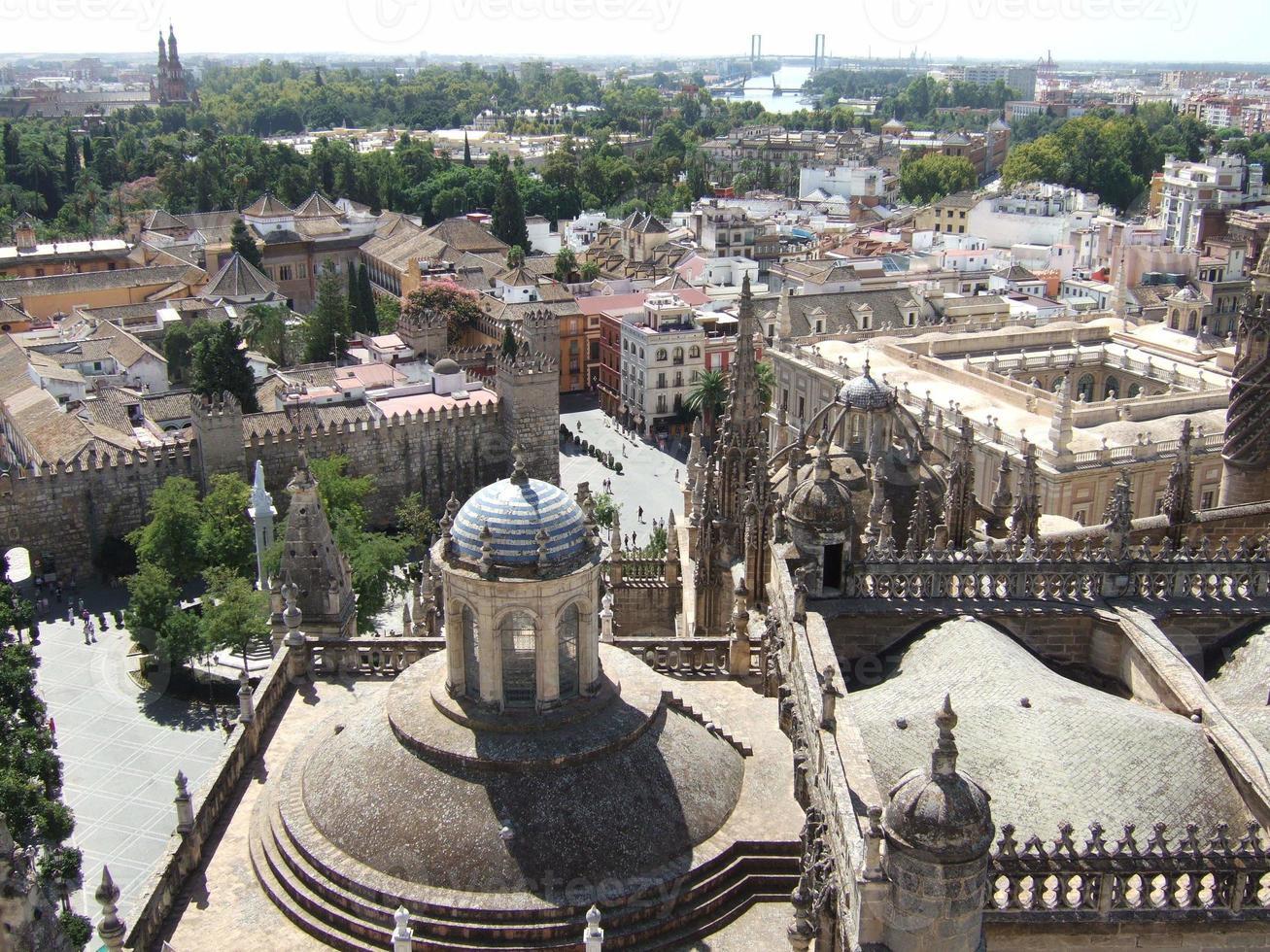 catedral de sevilla, españa foto