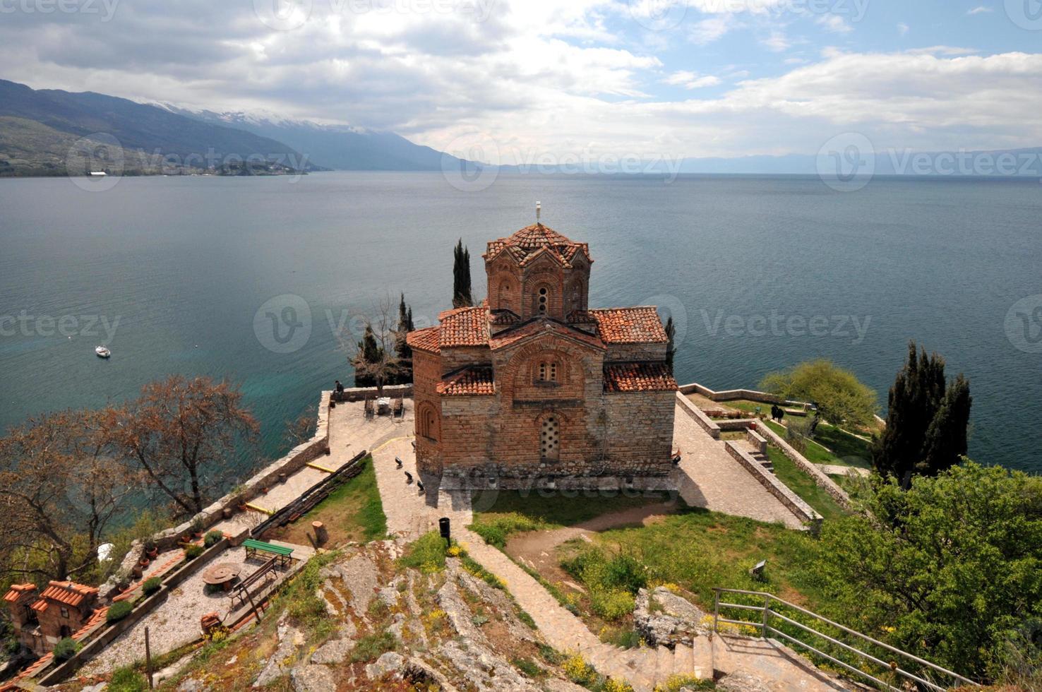 S t. iglesia jovan kaneo en ohrid foto