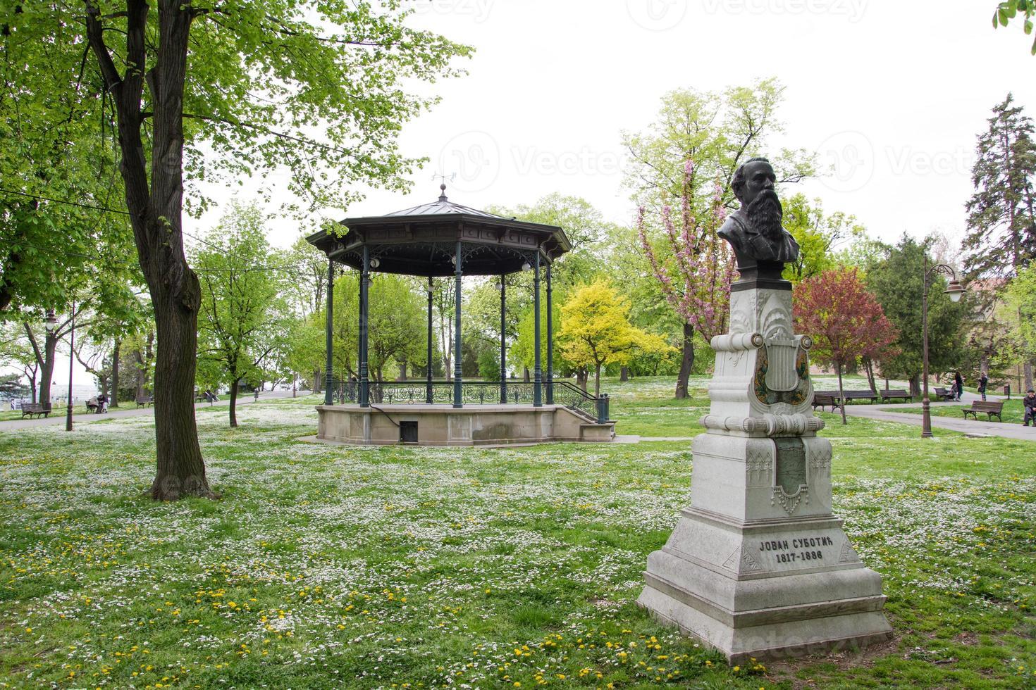 parque kalemegdan, belgrado foto