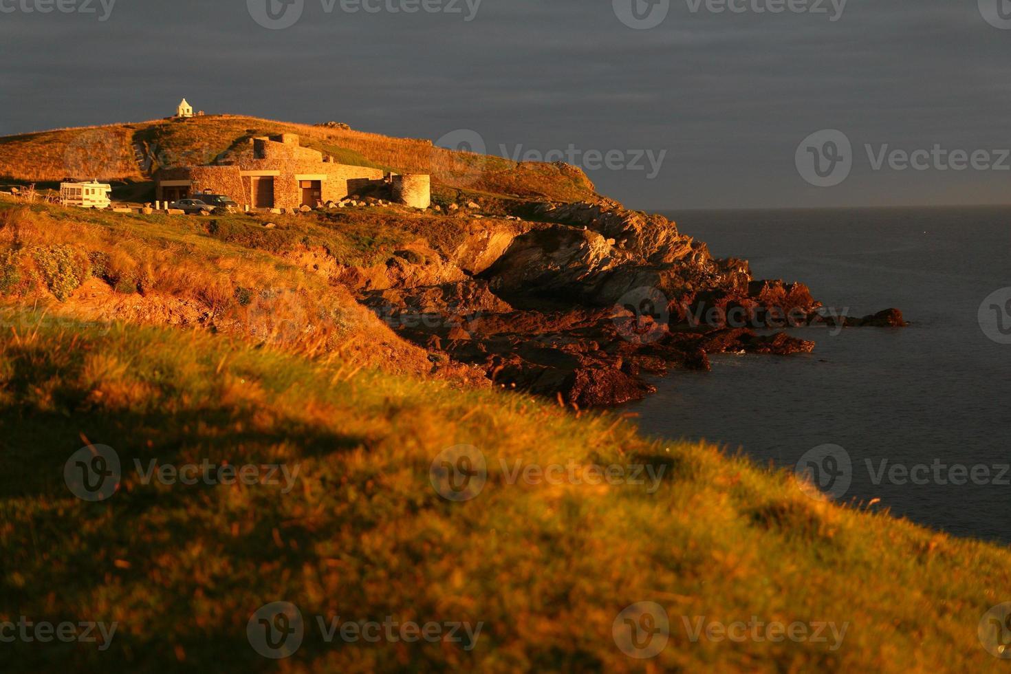 Newquay Headland Sunrise foto