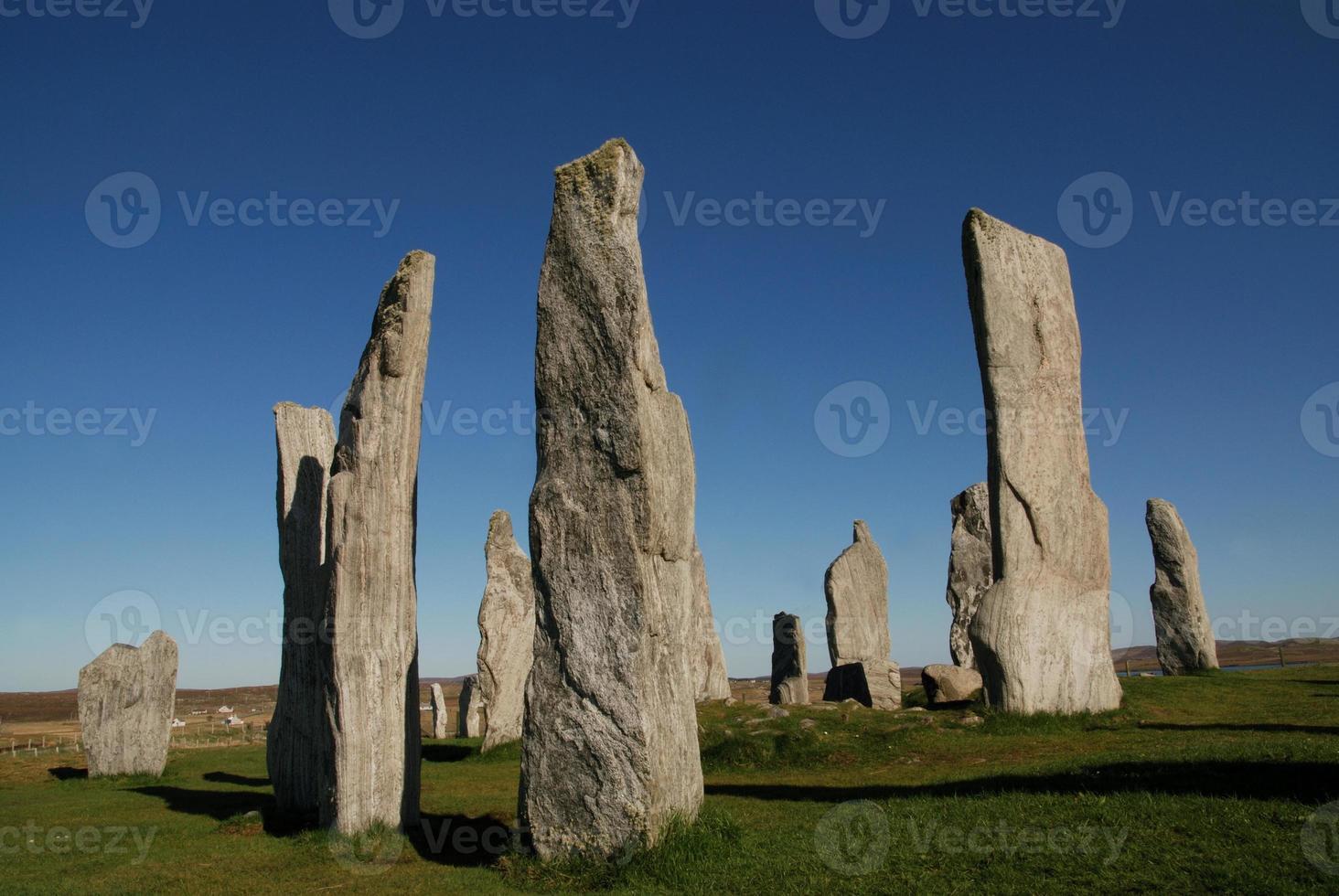 piedras de pie callanish foto