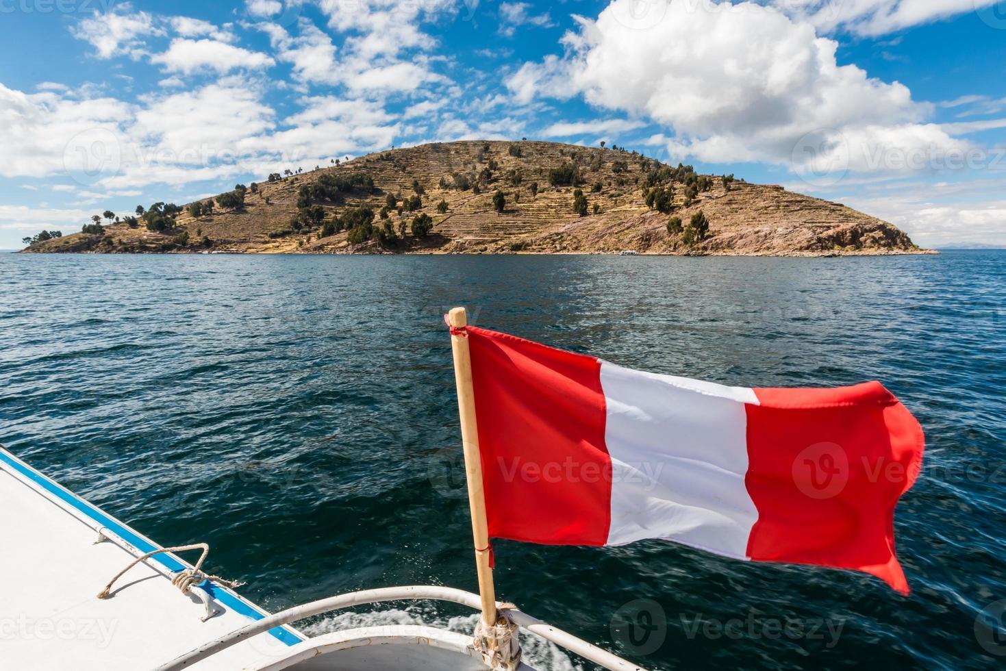 isla taquile lago titicaca andes peruanos puno perú foto