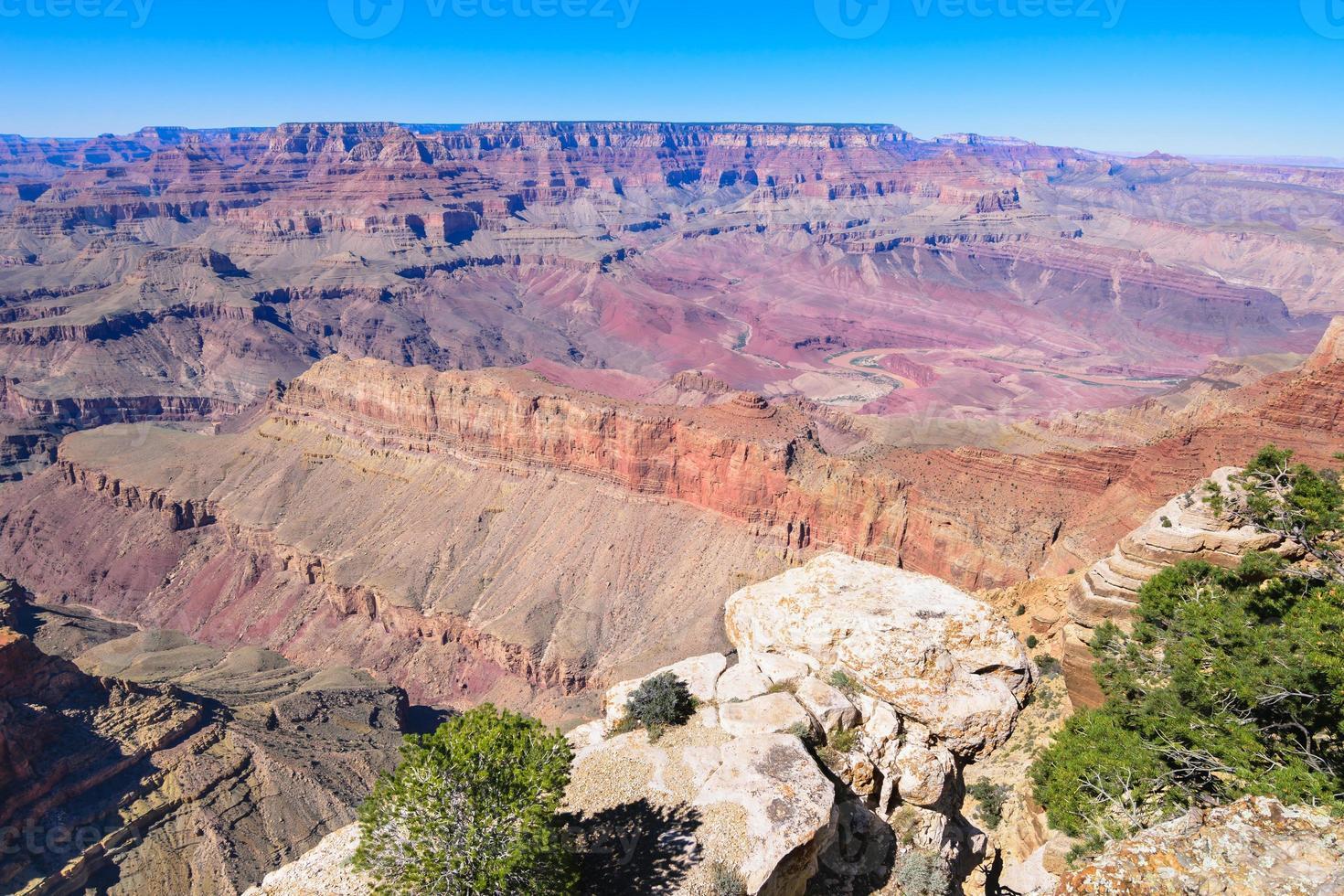 gran cañón - una de las 7 maravillas naturales del mundo foto