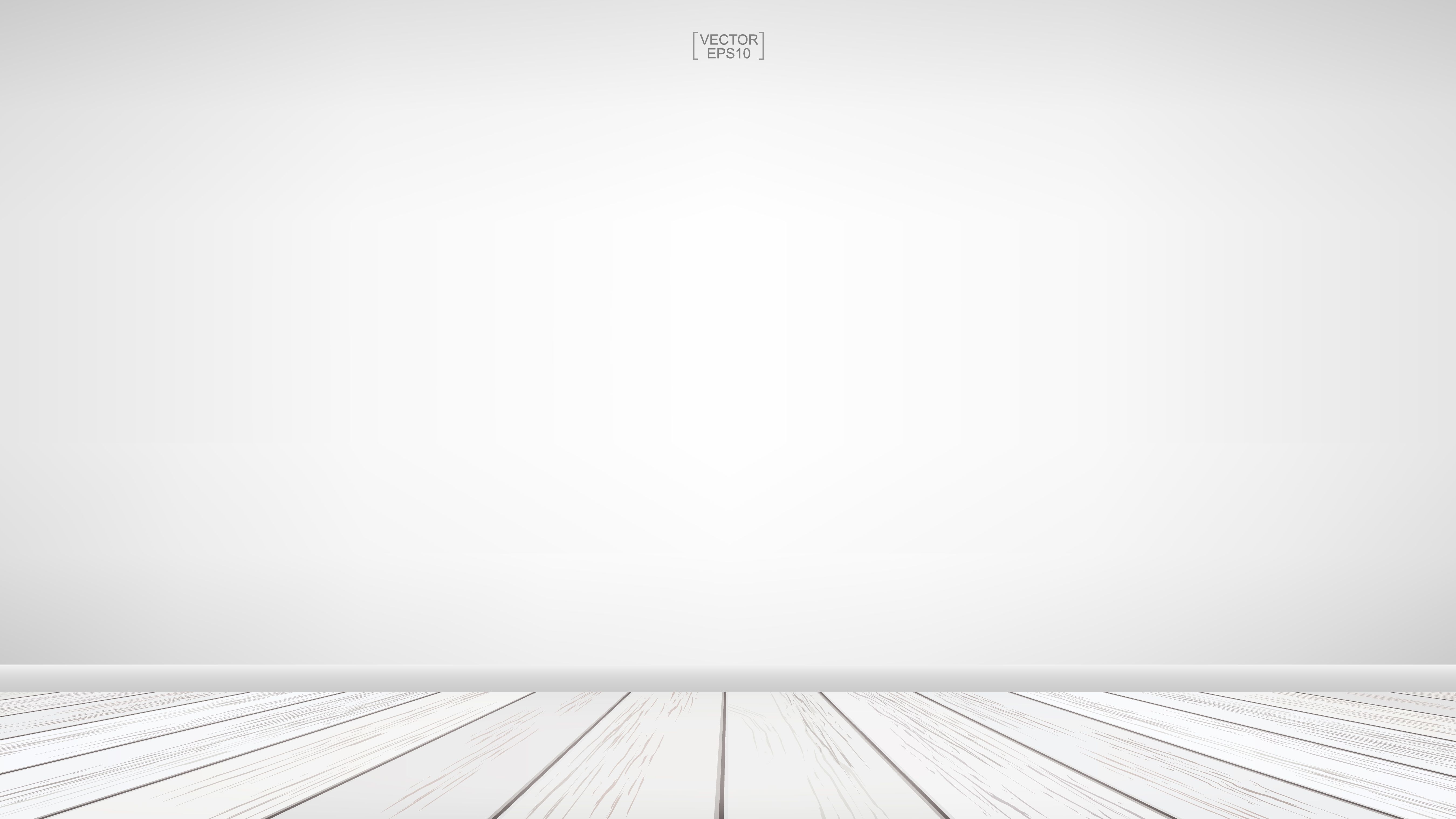 Empty room space with white wood floor - Download Free Vectors