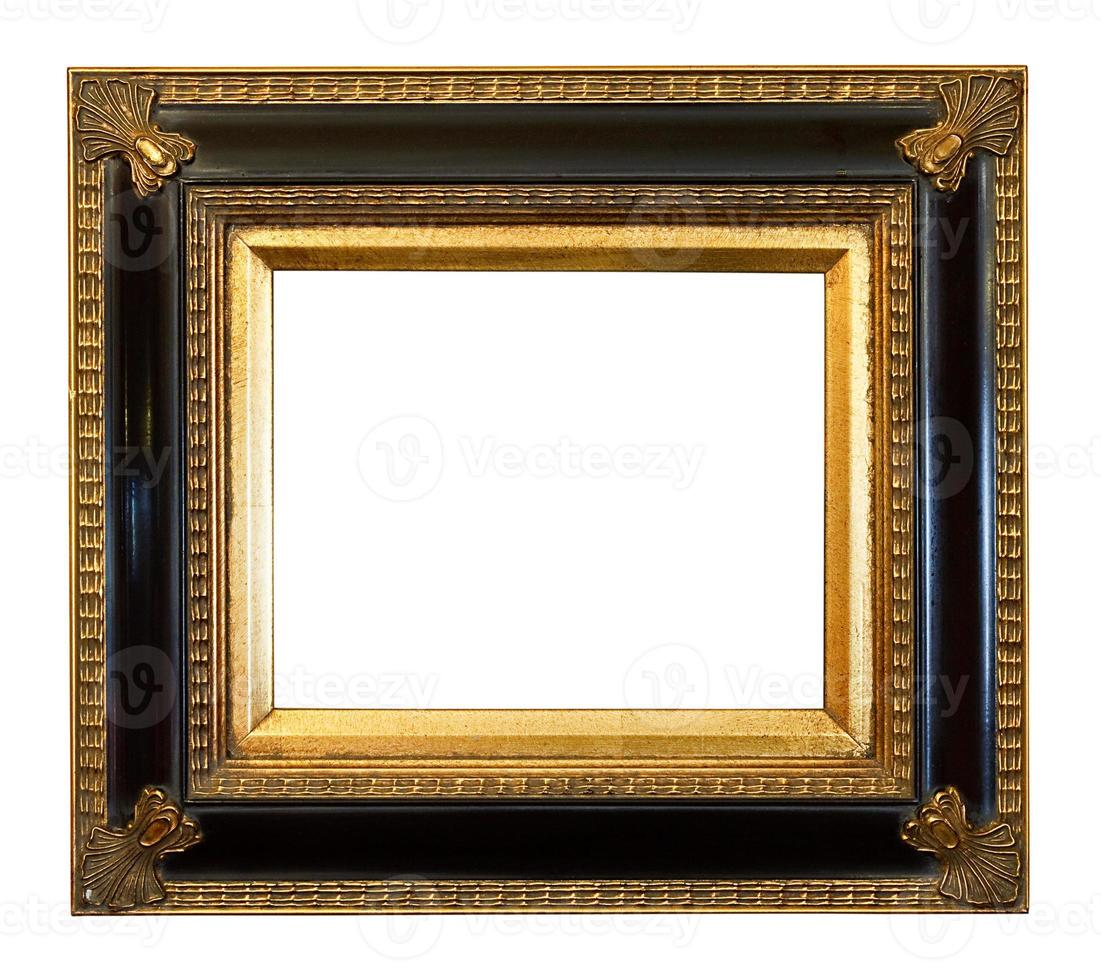 old antique Gilded Picture Frame photo