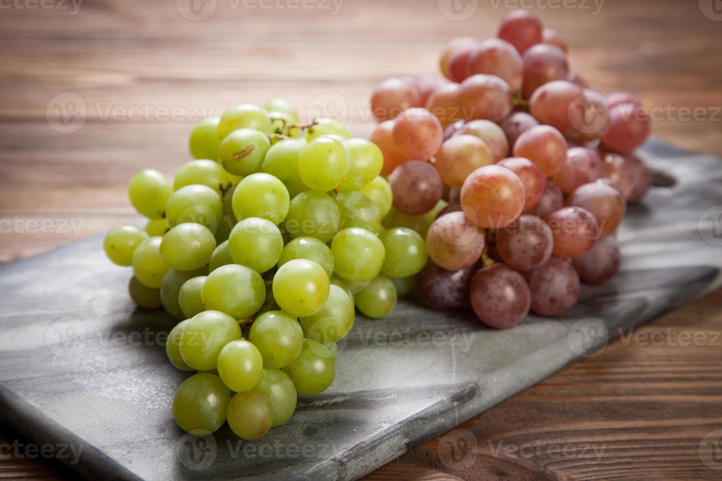 Delicious Grapes On A Kitchen Table 1346240 Stock Photo At Vecteezy