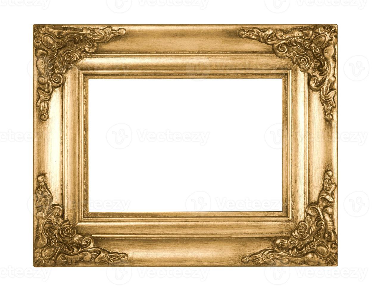 Retro Old Gold Frame photo