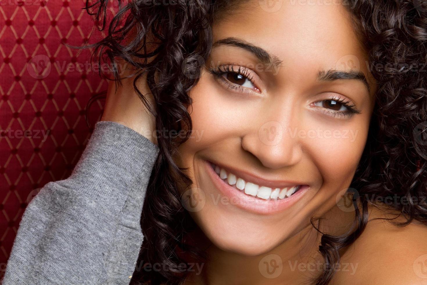 Gorgeous Woman Smiling photo