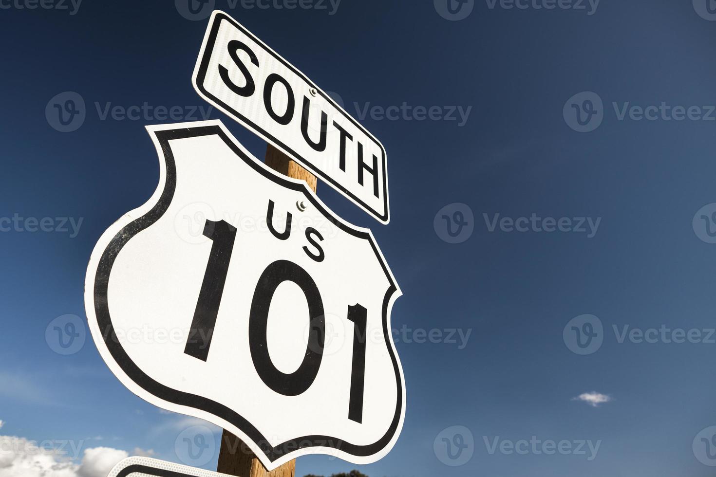 nosotros 101 autopista señal de tráfico foto