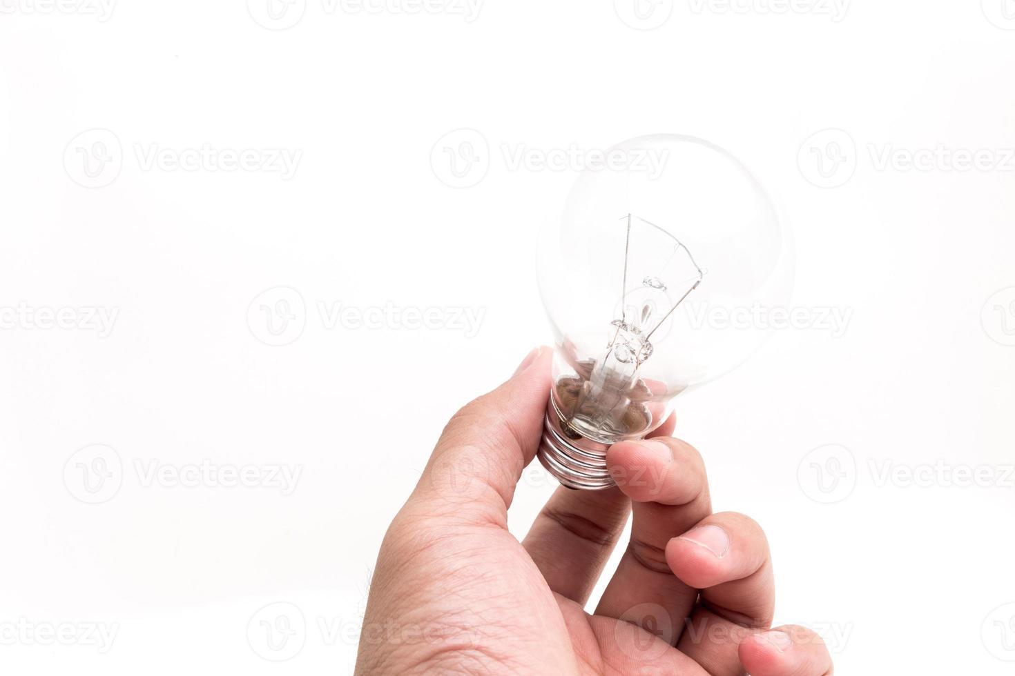 Incandescent lamp photo