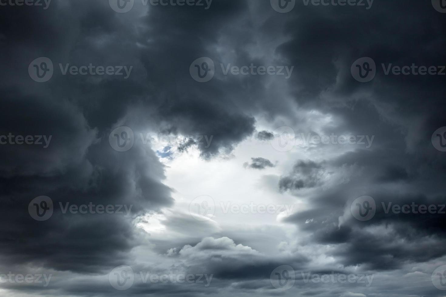 Stormy sky background photo