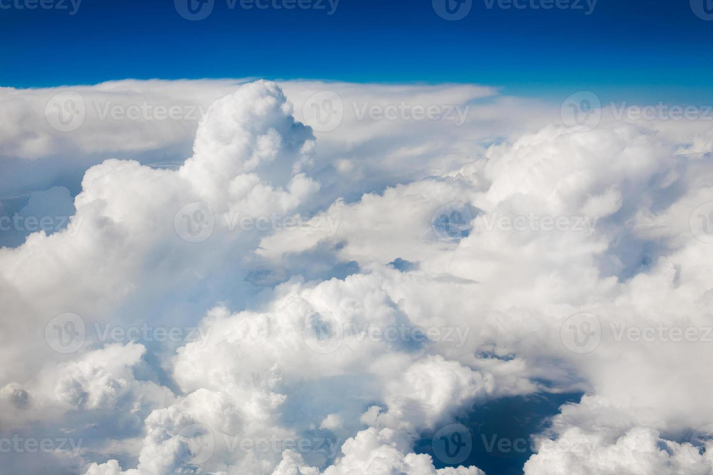 Sky clouds background photo
