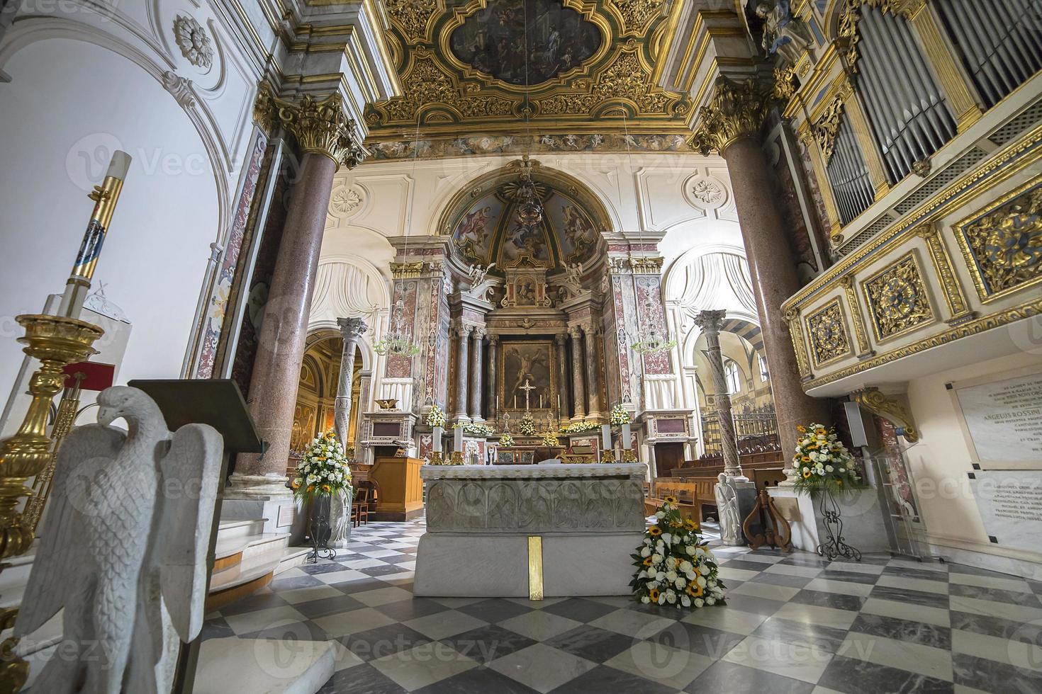 The Duomo, cathedral of Amalfi, campania, Italy photo