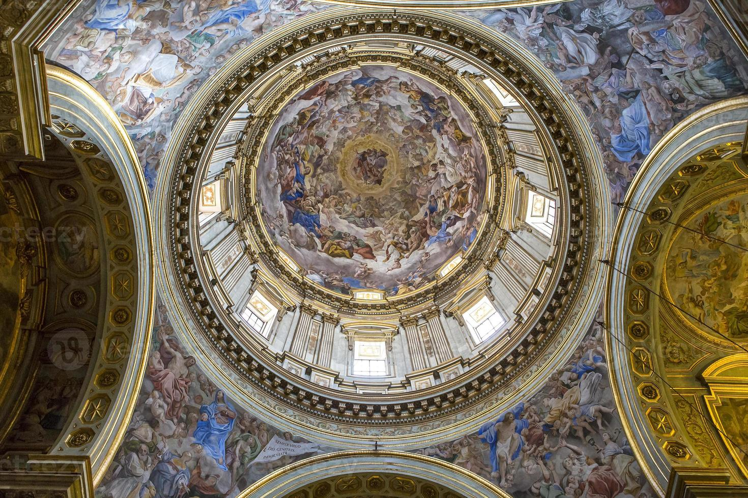 The Duomo, cathedral of Naples, campania, Italy photo