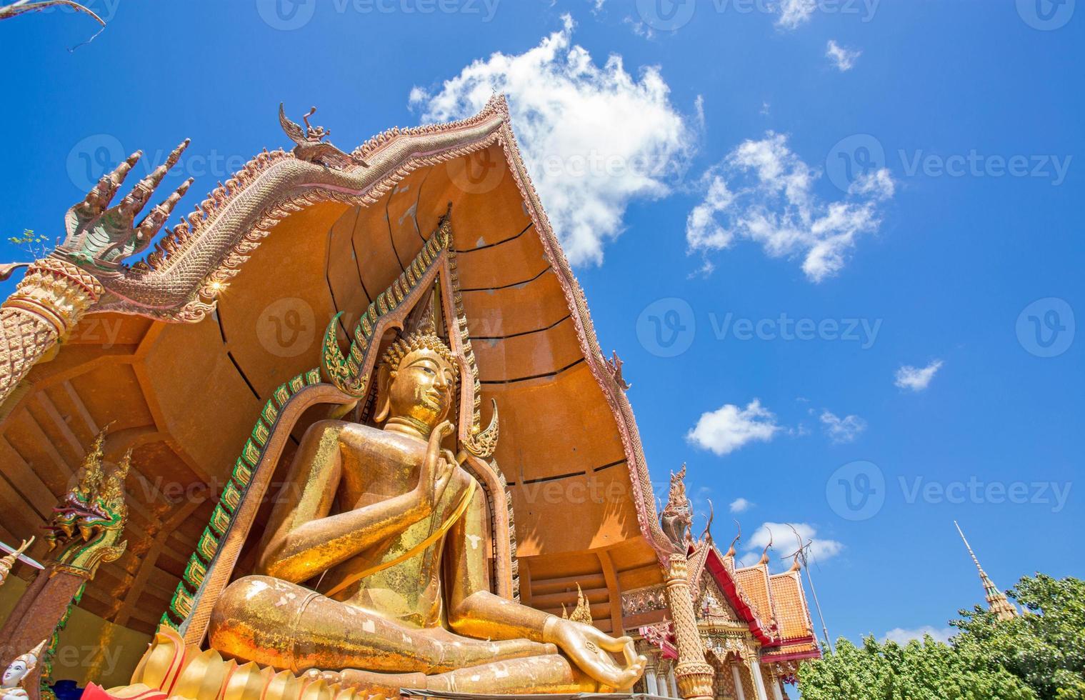 Buddha statue, Wat Tham Sua, Kanchanaburi, Thailand photo
