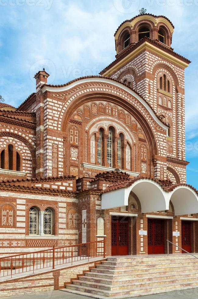 grécia, nea kallikratia, igreja de st. Paraskeva foto