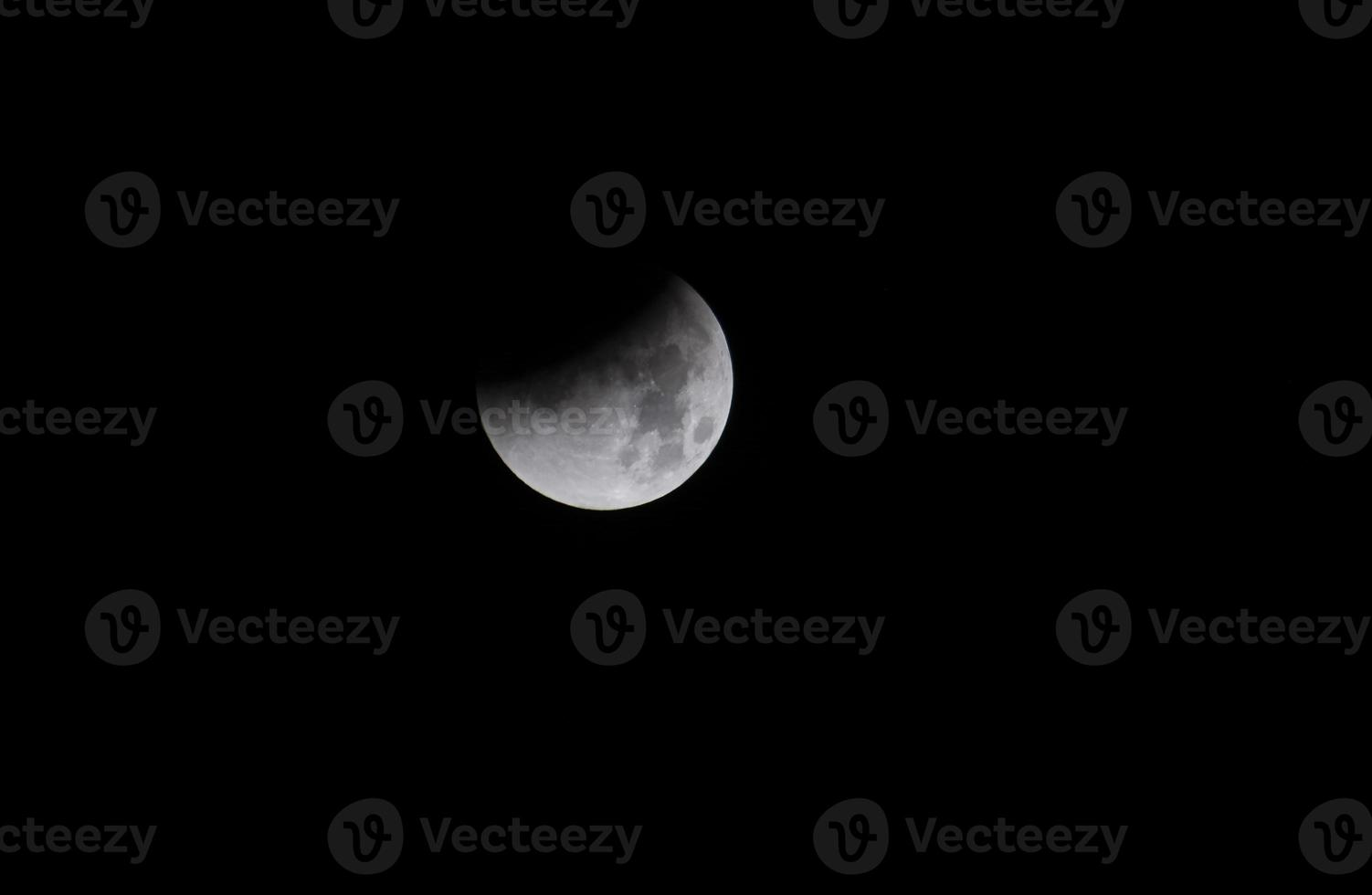 Eclipse lunar foto