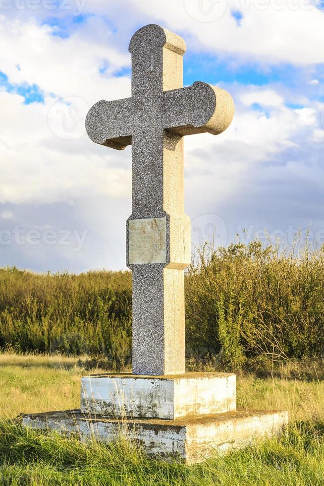 kerkhof steen foto