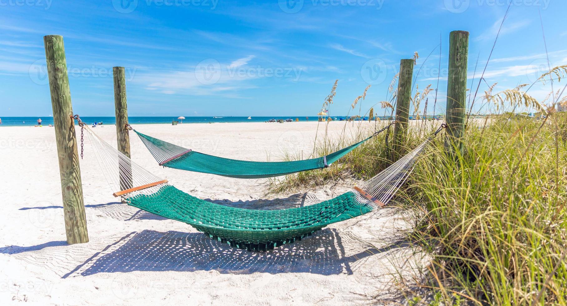hamac sur une plage photo