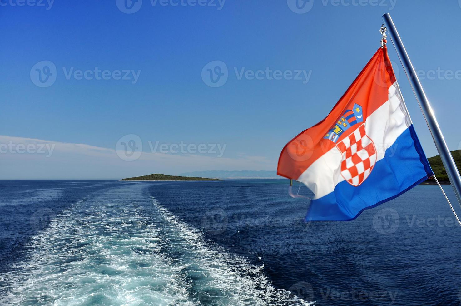 Kroatische cruise foto