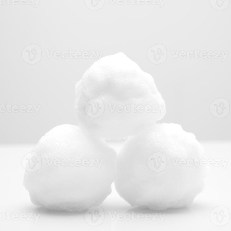 Schneebälle foto