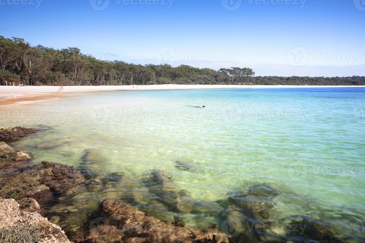 The Southern end of Green Patch Beach Australia photo