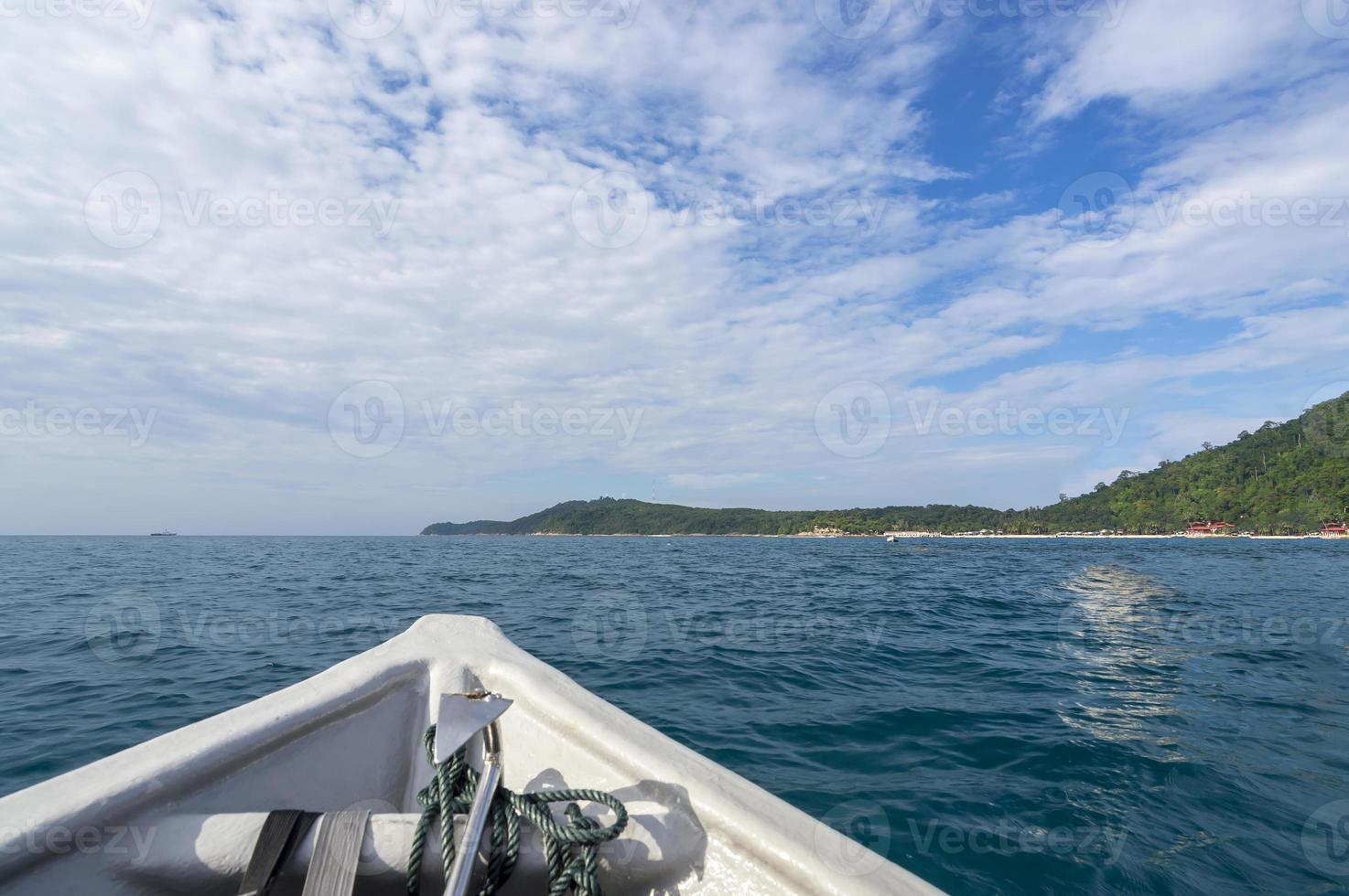 Island view photo