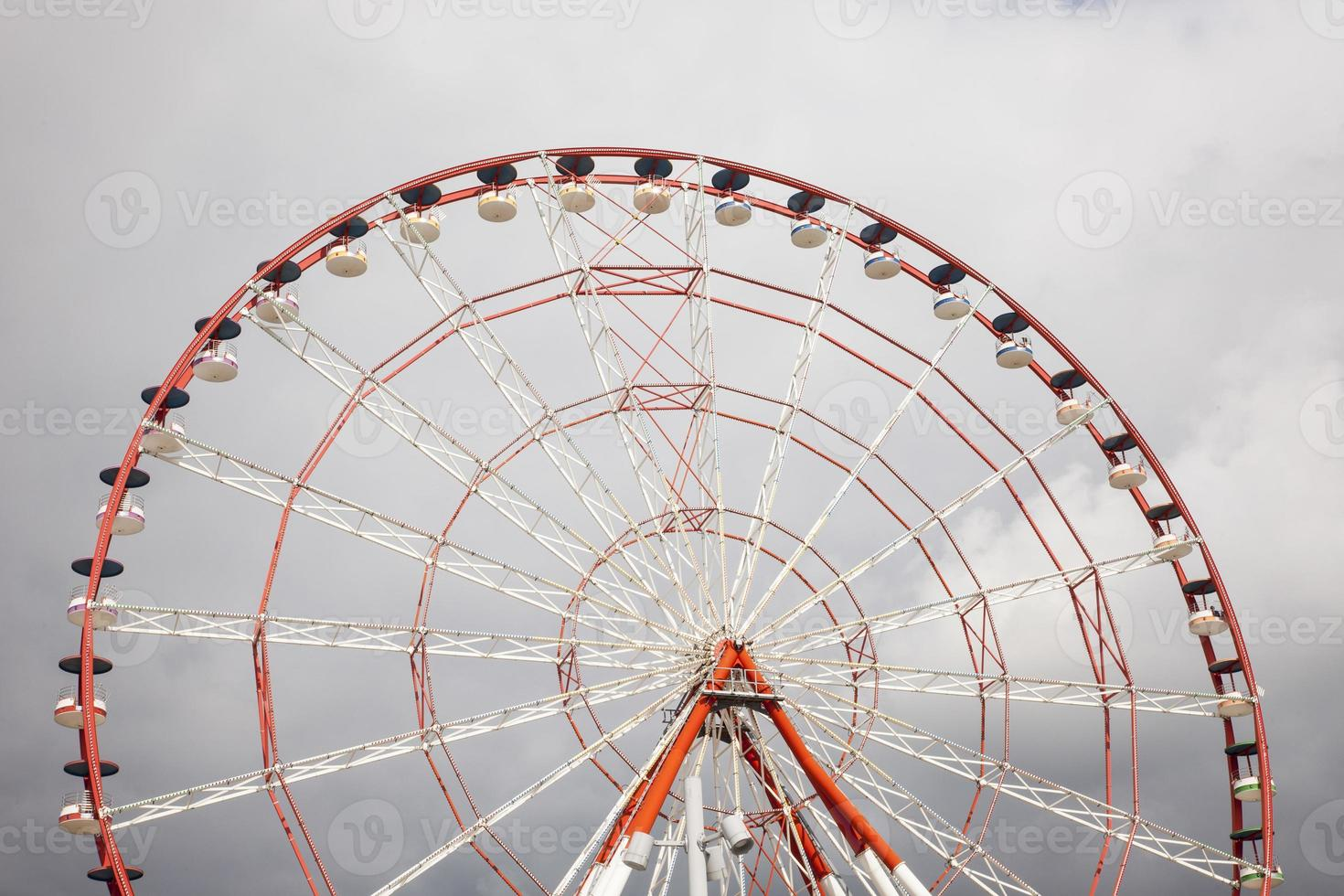 dettaglio della ruota panoramica foto