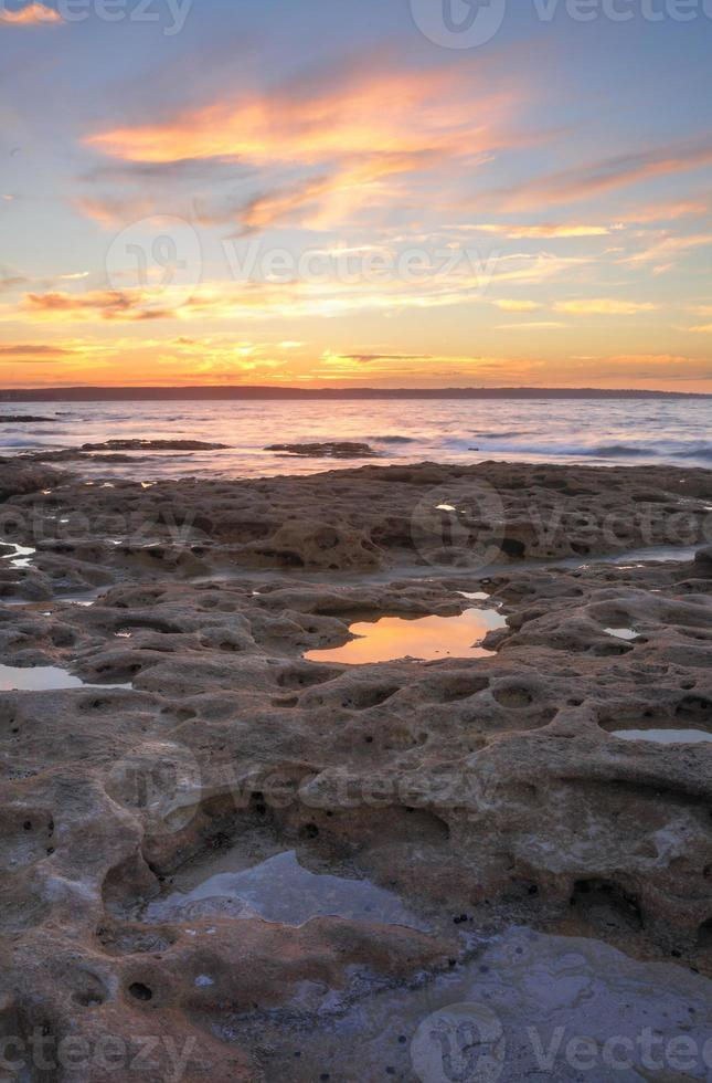 Sunset from Murrays Beach Jervis Bay foto
