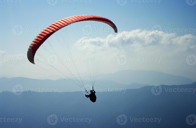 parapente en nepal foto
