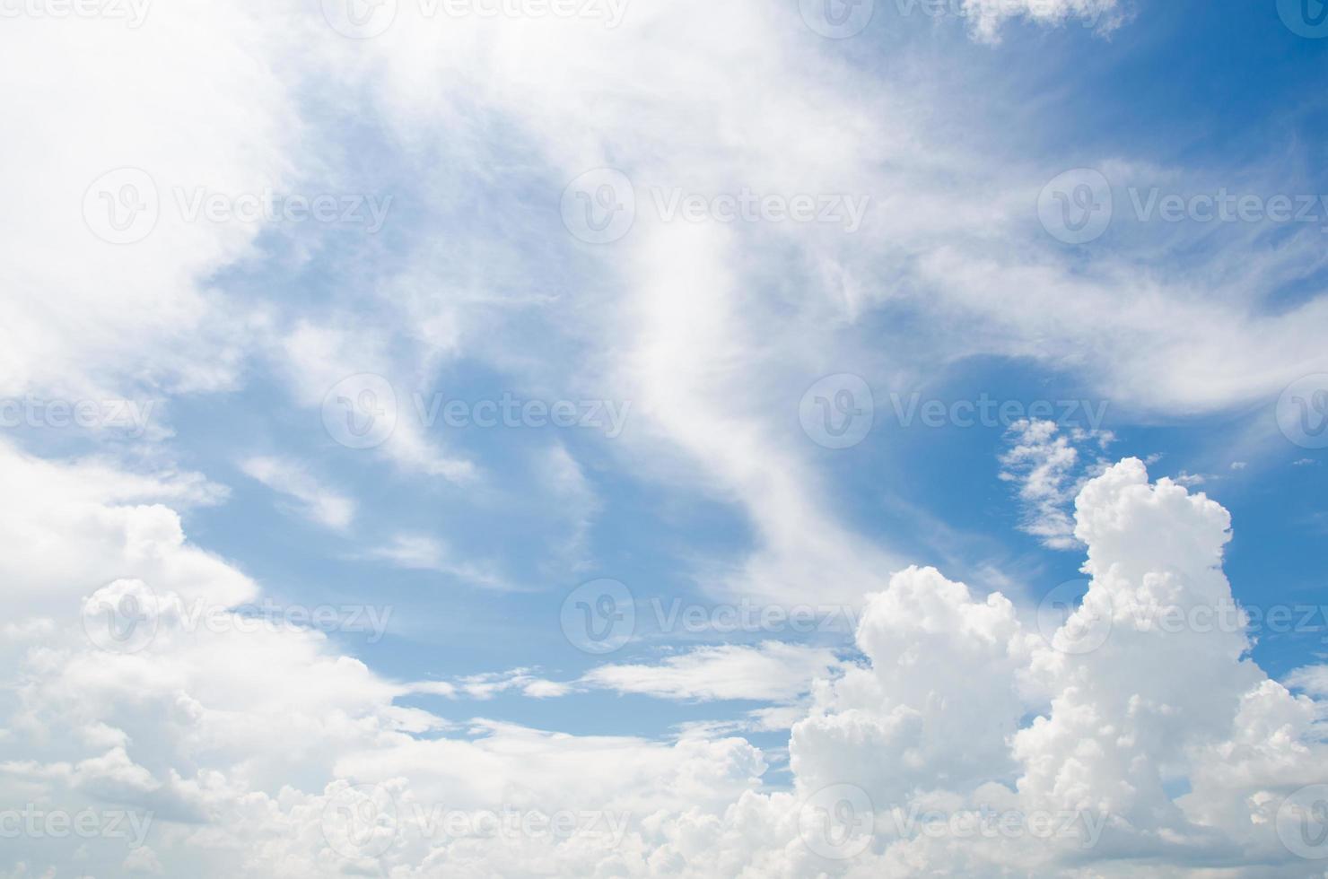 Cloud And Blue Sky photo