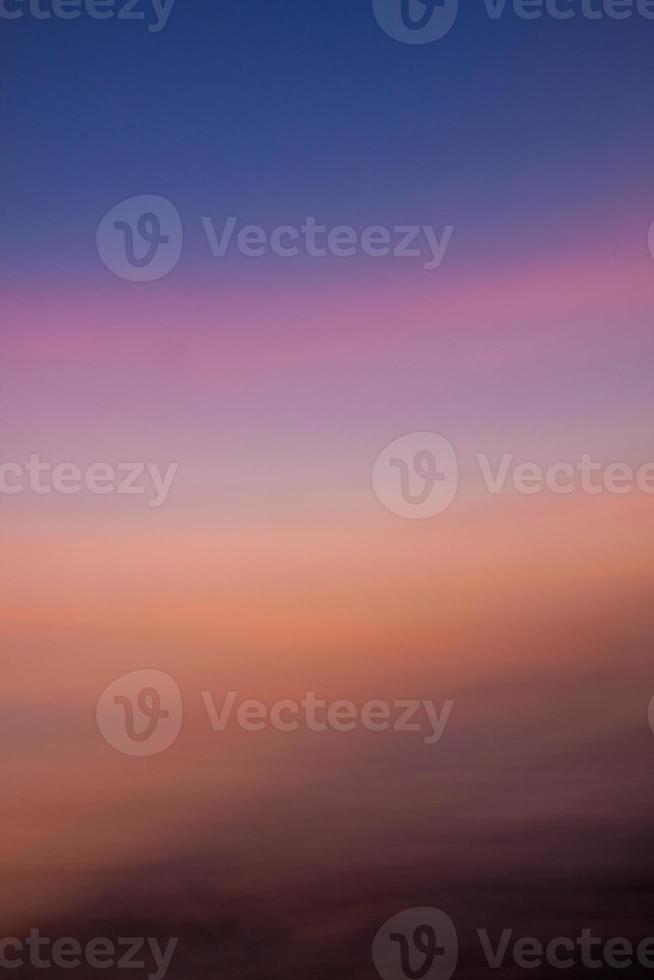 cielo de gradación. foto