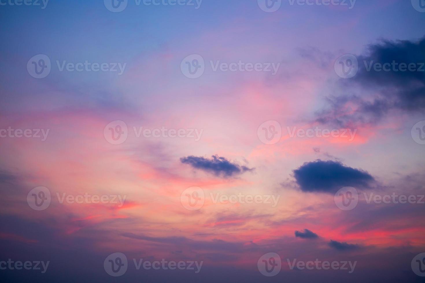 cielo del amanecer foto