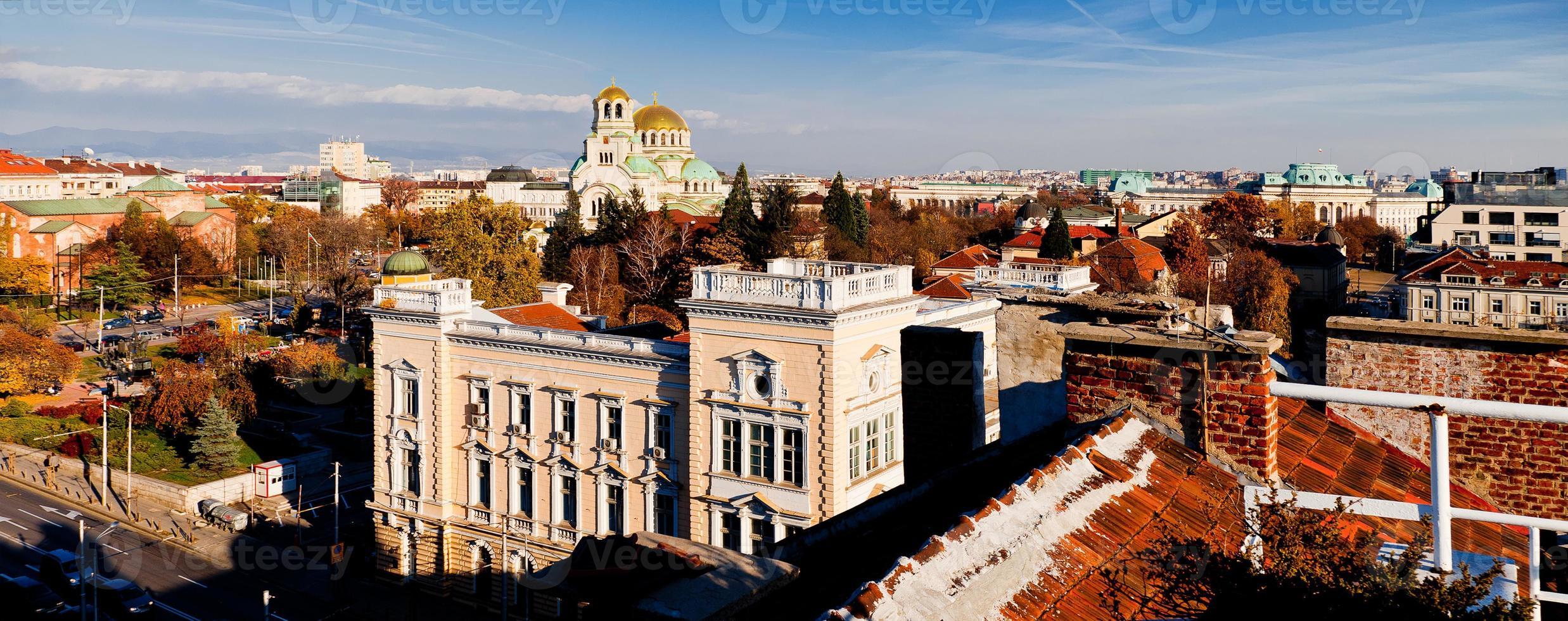 Sofia, Bulgaria view photo