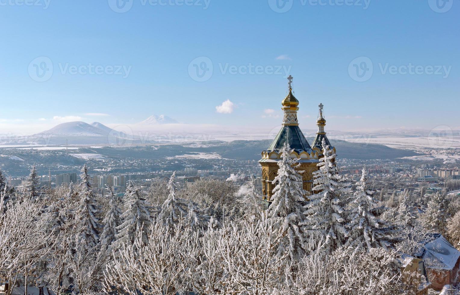 Church domes. photo