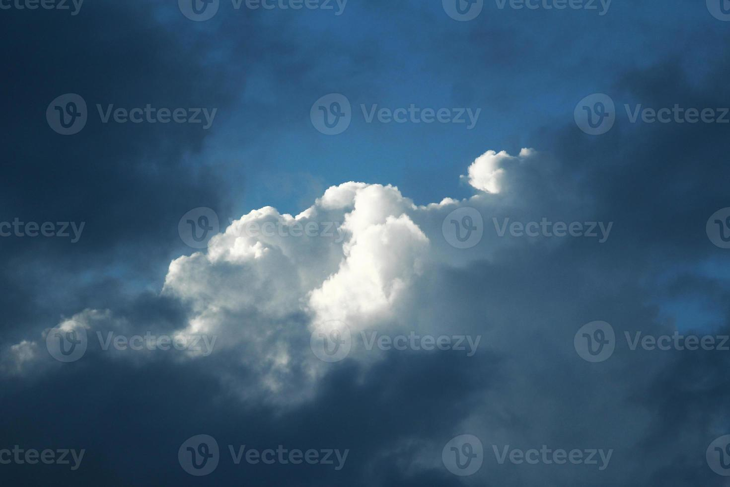 Clouds and light photo