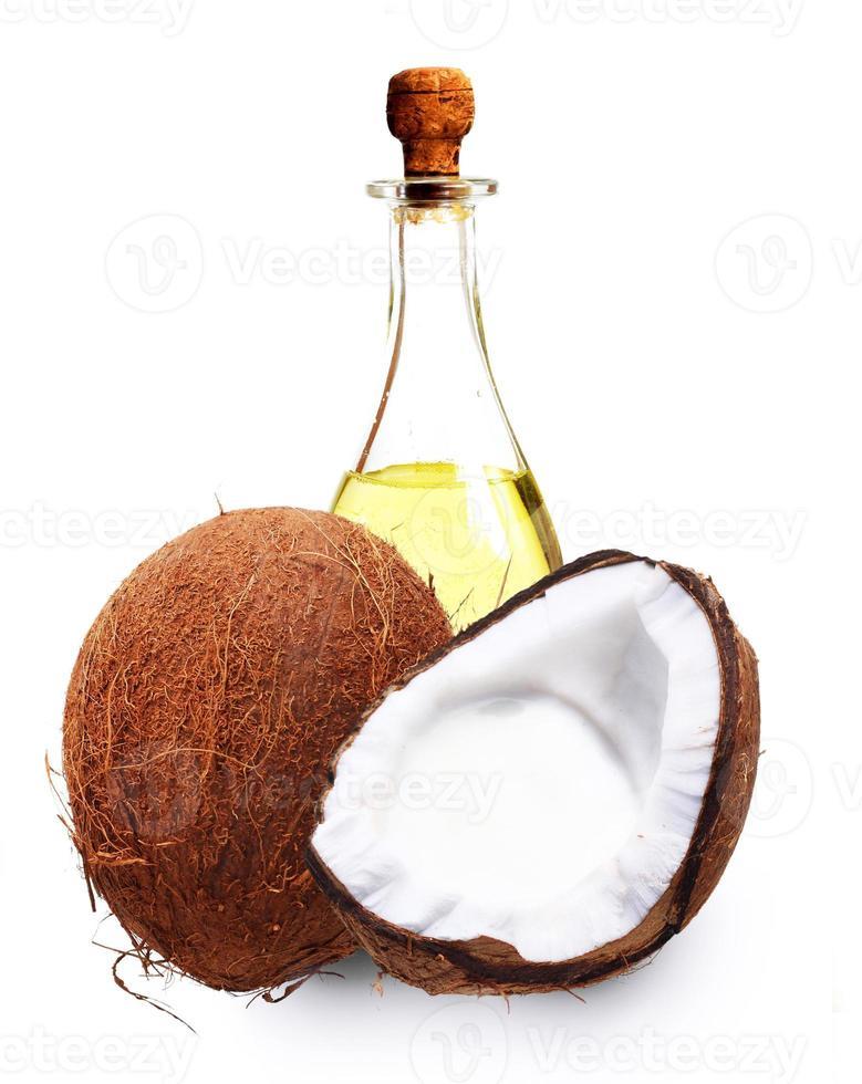 Coconut oil. photo