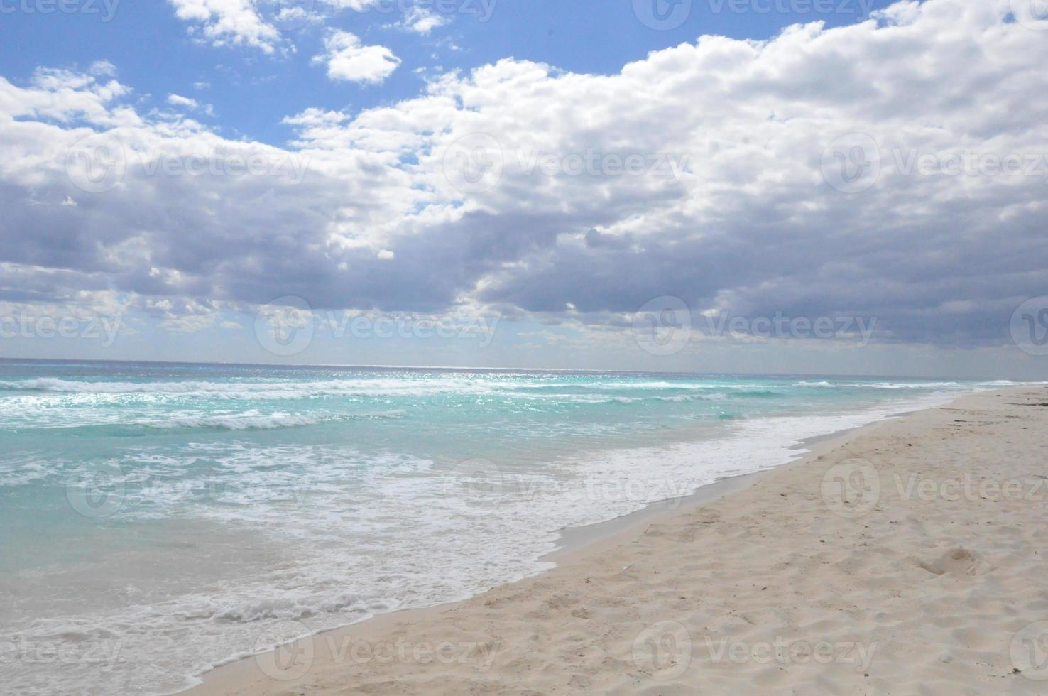 Beach in Cozumel, Mexico photo